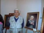 Ümit Esinler and his portrait