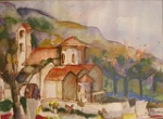 Church in Edremit North Cyprus by H.Trautmann
