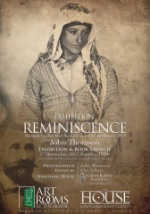 Poster for Exhibition Reminiscences at House and Garden Art Gallery