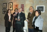 Evening at Ismet Güney Art Centre with the two awarded artists;