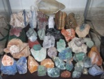 Collection of stones, raw
