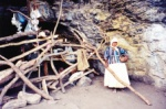 Indian tribe living in caves