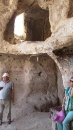 Cave apartment in Hasankeyf