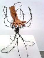 Mine Bahceci - My hand caught in wire