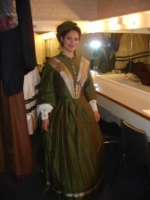 Getting ready for stage - here: Fledermaus