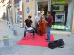 Young Jazz group just 100 m away