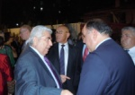 "The former ""Presidential sparring partners"" Dimitirs Christofias and Mehmet Ali Talat"