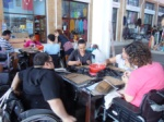Ceramic workshop for the disabled citizens