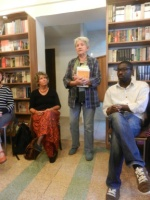 Book launch at the Streetart Bookstore and Café