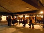 "the venue - basement of the Sartiricon - ""subway station Theatre"""