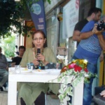 Launch of her last book at Khora Bookstore Nicosia