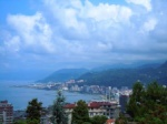 View from the Institute onto Rize
