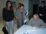 Book signing for Buket Özatay and Ismet Tatar