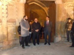 The artist and the TRNC cultural representatives