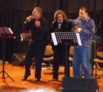 Yiltan and Adamos have invited Bülent Fevcioglu to come on stage
