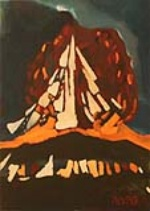 A new painting by Hasan Zeybek