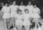 Camlica Lycee Volleyball team with Ayten as Captain (1951