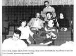 Fikret Demirag and his theatre friends decades ago (from the book by Hakan Cakmak)