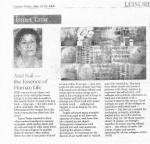 My text published in Cyprus Today May 2006