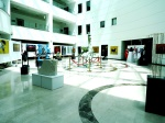 The exhibition hall at NEU hospital