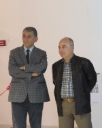 fm left: Prof. Dr. Senol Bektas, Rector; Prof. Dr. Ugurcan Akyüz, Dean of the Fine Arts Dept.