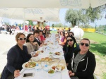 Lunch at ILIM University, with Fatma Özok on the left front
