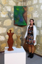 Bedia Kale with 2- and 3- dimensional works