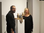 Omid Kalantar and Toya Akpinar, the owner of the SOL Atelier