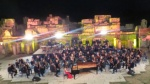 Finally the evening at the Amphitheater with the Vianna Symphonic Orchestra