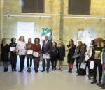 All artists having received their certificate of participation