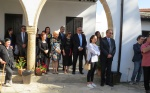 The Opening with HE Mustafa Akinci and his wife Meral