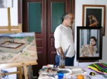 Osman Keten in his studio