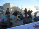 Concert in the newly opened pedestrian area in Nicosia North