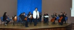 Oskay with Nicosia Municipality Orchestra in the TED