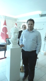 Bust of Ismet V. Güney done by Dr. Raif Demililer
