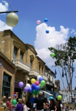 Balloons in South Nicosia