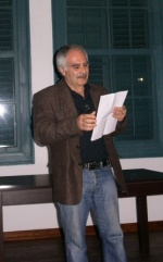 Zeki Ali - President of the Artists and Writers Union