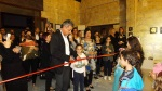Dr. Senih Çavuşoğlu was opening the event, his son was one of the students