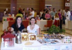 The ladies at the SOS Children Village Stand