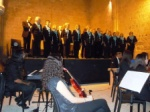 The Kyrenia Chamber Choir lined up