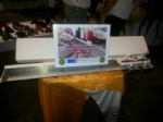 The knitting machine donated to the Sisters