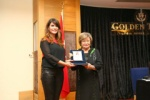 A plaquette of honour to Prof. Dr. Güler Ertan